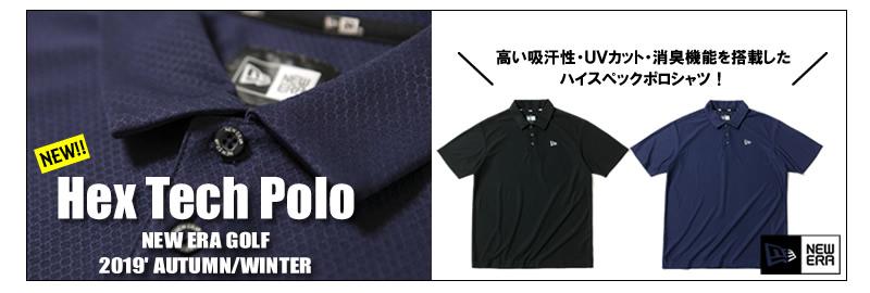 ニューエラゴルフ ポロシャツ
