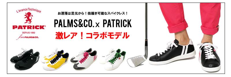 PATRICK for PALMS&CO[パトリックパームスアンドコー]SULLY/ゴルフシューズ